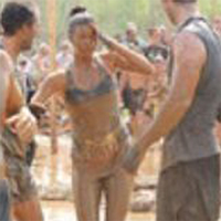 Image of Aimee Schleizer running the Tough Mudder